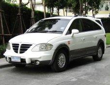 ขายรถ SSANGYONG Stavic SV270 2007 รถสวยราคาดี