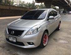 Nissan ALMERA 1.2VL ปี 2012 สีบรอน รุ่นท็อป เอกสารครบพร้อมโอน