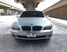 BMW 730Li SE Sunroof ปี 2007แท้ สีบรอนเงิน รถสวย ไม่แก๊ส เล่มพร้อมโอนทันที