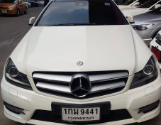 Benz C180 coupe Amg ปี 2012
