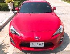 Toyota ft86ปี2013สีแดง