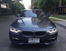BMW 320i LUXURY ปี2016 เครื่องยนต์ตัวใหม่ มีBSI ถึงปี2021 รถสวย ไมล์น้อย62,xxxkm. ราคา1,350,000