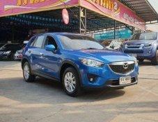 2014 MAZDA CX-5 2.0 SP โฉม ปี12-ปัจจุบัน สีน้ำเงิน ติดแก็ส LPG