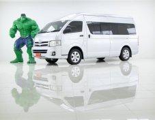 ออกรถ 0 บาท Brand : TOYOTA Year: 2012 Model : COMMUTER Grade : 2.5 D4D