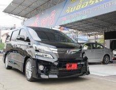 ขายรถครอบครัวใช้งานสบาย Toyota VELLFIRE Z G EDITION 2014