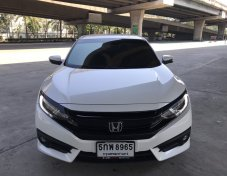 2016 HONDA CIVIC FC 1.5 RS TURBO สีขาว มือเดียว ราคาถูกสุดในตลาด