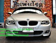 2004 BMW 525 iSE ตัว TOP สุด แต่ง M รองน่องไฟฟ้า สภาพสวย แต่งมาอย่างหล่อ ขับไปไหน สาวเหลียวหลัง ราคาสบายกระเป๋า