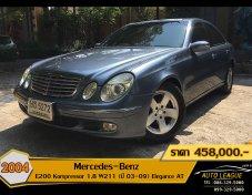 2004 Mercedes-Benz E200