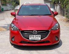 MAZDA 2 1.3 High Plus ปี 2016 สีแดง รถมือเดียวสภาพสวย