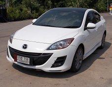 Mazda 3 1.6 S 4ประตู ปี13 สีขาว รถสวยเดิมขับดีไม่แก็สเครื่องช่วงล่างแน่นภายในดำออฟชั่นครบพร้อมใช้เล่มมีพร้อมโอน