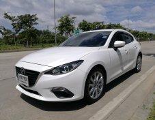 2014 Mazda 3  2.0  มือเดียวออกห้าง ไม่มีแก๊ส