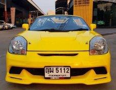 TOYOTA MR-S สีเหลือง จดทะเบียนปี 2011