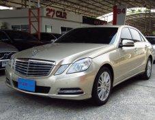ขายรถ MERCEDES-BENZ E250 CDI Elegance 2011 รถสวยราคาดี