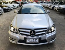 Mercedes Benz ปี 2012 รุ่น C180 BlueEFFICIENCY W204 AMG Coupe