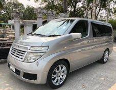 2011 Nissan Elgrand E51 5 Doors Minivan