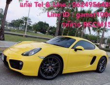 PORSCHE CAYMAN 2.7 PDK AT ปี 2015