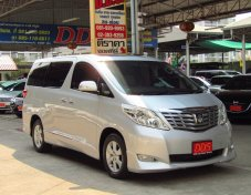 Alphard 3.5V รุ่นท็อป รถออกศูนย์ Toyota Thailand มือเดียวออกห้าง