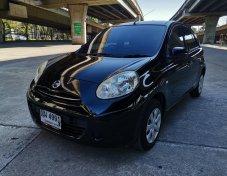 ขายรถ NISSAN MARCH 1.2E hatchback ปี 2011 สีดำ