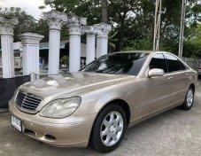 2001 MERCEDES-BENZ S280 รถเก๋ง 4 ประตู สวยสุดๆ