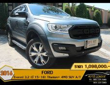 2016 FORD Everest 3.2 (ปี 15-18) Titanium+ 4WD SUV A/T