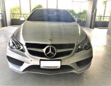 ขาย 2016 Mercedes-Benz E200 2.0 W207 (ปี 10-16) รถบ้าน เจ้าของขายเอง ใช้น้อยมาก
