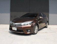 Toyota Corolla Altis 1.8 G ปี 2014 เติม E85 ได้ รับประกันรถสวย