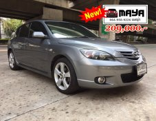 เมญ๋าขายรถมือสองฟรีดาวน์ Mazda 3 2.0R SR Hatchback A/T 2006