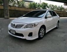 ขายรถ  TOYOTA ALTIS 1.6E CNG ปี 2013 สีขาว