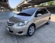 ฟรีดาวน์ Toyota VIOS 1.5J ออโต้ ปี 2008 สีบรอนทอง ไม่แก๊ส รถมือเดียว