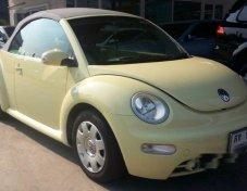 รถสวย ใช้ดี VOLKSWAGEN New Beetle รถเก๋ง 5 ประตู
