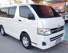 Toyota Hiace D4D 2.5 GL ดีเซล ปี 12 สีขาว
