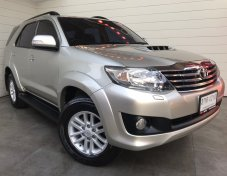 2014 Toyota Fortuner  3.0 (ปี 12-15 ) V SUV AT