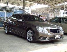 รถสวย ใช้ดี MERCEDES-BENZ E250 CGI AMG รถเก๋ง 4 ประตู