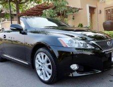 Lexus IS250C Cabriolet ปี 2011