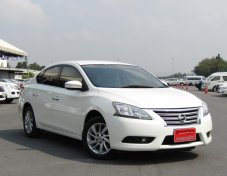 NISSAN	  SYLPHY 1.6 V	สีขาว	ปี2015