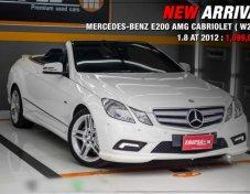 2012 MERCEDES-BENZ E200 สภาพดี