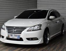 Nissan Sylphy 1.6 E CNG sedan ปี2015 สีขาว รถสวย ปีใหม่ พร้อมใช้