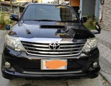 2012 Toyota Fortuner V 4WD suv