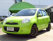 Nissan March ปี2012