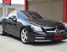 Mercedes-Benz SLK200 BlueEFFICIENCY AMG 1.8 R172 (ปี 2012) Sports Convertible AT ราคา 1,650,000 บาท