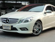 2010 BENZ, E 250 CDI COUPE, โฉม W207