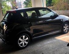Suzuki Swift GL 1.25 MT ตัวทอป เกียร์ธรรมดา สีดำ รถบ้านสภาพเอี่ยมสวยมาก
