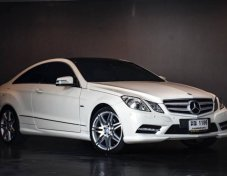 Benz E200 CGi Coupe 7 Speed AMG 2012
