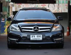 Benz C180 Coupe AMG Sport Package Black Edition ปี12