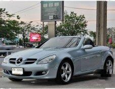 รถสวย ใช้ดี MERCEDES-BENZ SLK200 Kompressor รถเปิดประทุน
