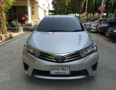 ฟรีดาวน์ ไม่ต้องค้ำ ผ่านง่าย ได้รถชัวร์ Toyota Altis 1.6G Dual ปี 2014