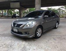 Nissan Almera 1.2VL รุ่นTOP ปี 2012 รถมือเดียว สภาพสวยพร้อมใช้งาน