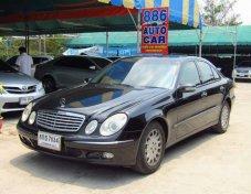 รถสวย ใช้ดี MERCEDES-BENZ E200 Kompressor รถเก๋ง 4 ประตู
