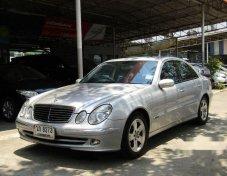 2002 MERCEDES-BENZ E240 รถเก๋ง 4 ประตู สวยสุดๆ