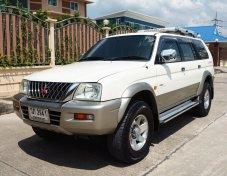2002 Mitsubishi Strada G-Wagon VG Turbo suv